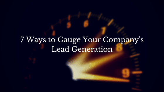 Gauge Your Lead Generation
