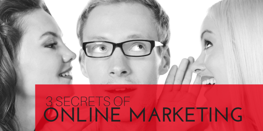 Secrets of online marketing