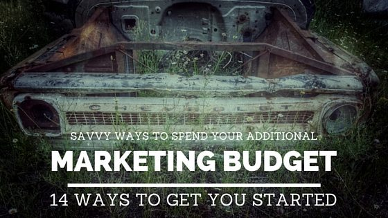 Additional Marketing Budget