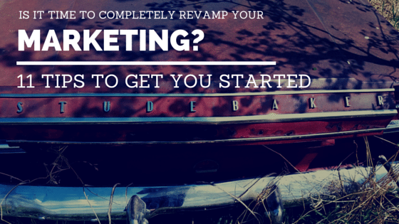 Revamp Your Marketing