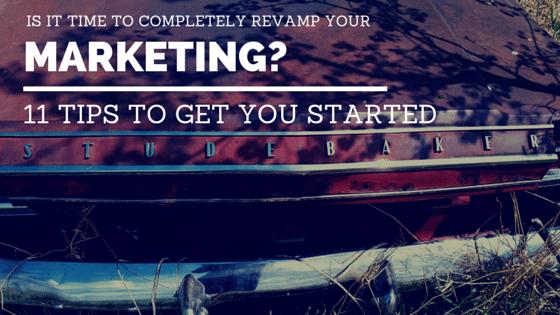 Revamp Your Marketing